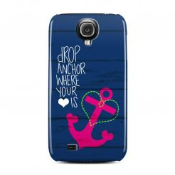 DecalGirl Drop Anchor Clip Case - дизайнерски поликарбонатов кейс за Samsung Galaxy S4 i9500