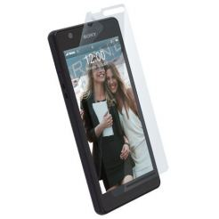 Krusell Screen Protector - изключително здраво защитно покритие за Sony Xperia ZR