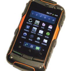 Telematic Terrain - смартфон с Android, Водоустойчив, устойчив на прах, мръсотия, натиск, влага