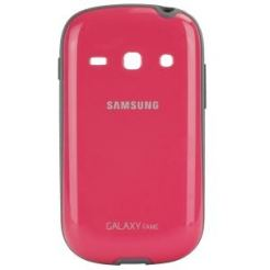 Samsung Cover+ EF-PS6 - поликарбонатов кейс за Samsung Galaxy Fame (розов)