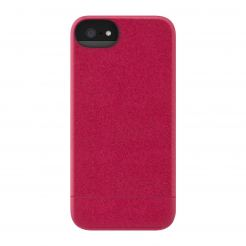 Incase Crystal Slider Case - поликарбонатов кейс за iPhone 5, iPhone 5S (червен)