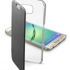 Samsung Galaxy S6 Edge + Clear Book черен