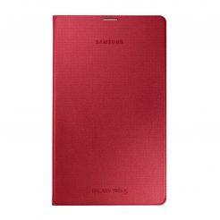 Samsung Simple Cover EF-DT700 - оригинално кожено покритие за Samsung Galaxy Tab S 8.4 (червен)