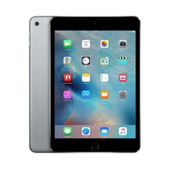 Apple iPad mini 4 Wi-Fi, 16GB, 7.9 инча, Touch ID (тъмносив)