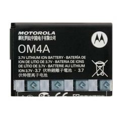 Motorola OM4A Battery 750mAh - оригинална резервна батерия за Motorola Gleam, EX211, WX160, WX180, WX260, WX295, WX390, WX395 (bulk)