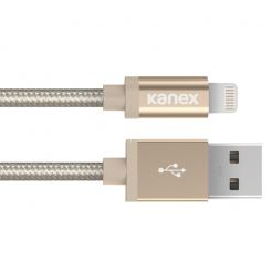 Kanex Premium Lightning to USB Cable 120 cm - кабел за iPhone 6, iPhone 6 Plus, iPad и iPod с Lightning (златист)