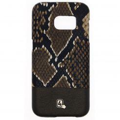 4smarts Sonora Clip Snake Case - дизайнерски кожен кейс за Samsung Galaxy S7 Edge