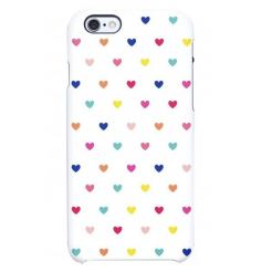 Uncommon All Over Hearts Case - поликарбонатов кейс за iPhone 6S, iPhone 6