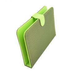 "Клавиатура калъф за таблет 7"", USB, черно/зелено"