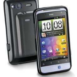 Shoking case за HTC Salsa черен