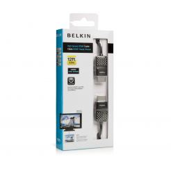 Belkin HDMI High Speed кабел версия 1.4 - HDMI кабел за Мac и PC (3.6 метра)