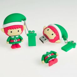 USB Tribe Gnome High Speed USB 2.0 Flash Drive 4GB - флаш памет 4GB