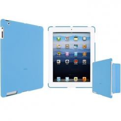 Artwizz SeeJacket Clip - кейс за iPad 3 (съвместим с Apple Smart cover) - син