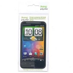 HTC SP P430 Screen Protector - защитно покритие за HTC Desire HD (два броя)
