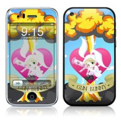 Gun Bunny скин за iPhone 3G/3Gs