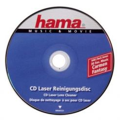 Почистващ комплект HAMA CD/CD-ROM/  DVD Laser Lens cleaner