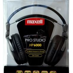 Слушалки  MAXELL PRO Studio 6000 Digital headphones с големи наушници