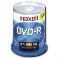 DVD-R 4.7Gb MAXELL 100 бр. shrink