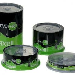 DVD+R4.7Gb 16sp 10 бр. Shrink  MAXELL