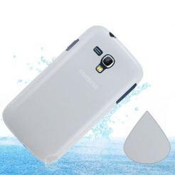 Protective Slim Case - силиконов калъф за Samsung Galaxy S Duos S7562 (прозрачен-мат)