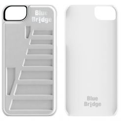 Blue Bridge White Dove Case - поликарбонатов кейс за iPhone 5, iPhone 5S (бял)