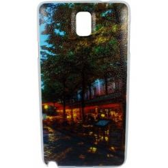 Back cover for Samsung Note 3 Slim 0.5 mm DeTech - 50049