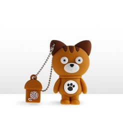 USB Tribe Animals Mimi the Cuddly High Speed USB 2.0 Flash Drive 8GB - флаш памет 8GB