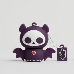 USB Tribe Skelanimals Diego The Bat High Speed USB 2.0 Flash Drive 4GB - флаш памет 4GB