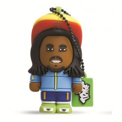 USB Tribe Toonstar Rasta High Speed USB 2.0 Flash Drive 4GB - флаш памет 4GB