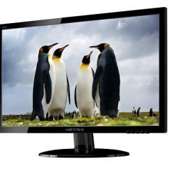 "HANNS.G HE225DPB Монитор 21.5""W  LED,1920x1080 170/160 VGA DVI Audio Black Glossy"