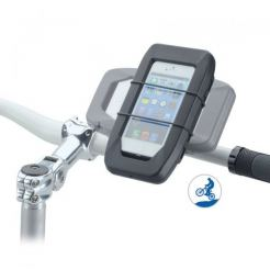 iGrip Biker Sports Splashbox kit - поставка за велосипед за iPhone 5S, iPhone 5 (черен)