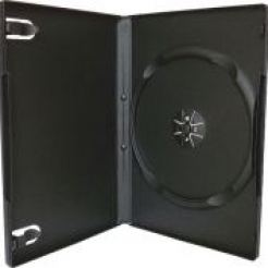 Кутийка за DVD - box black 5бр.