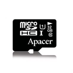 Apacer MicroSDHC 32GB UHS-I Memory Card - MicroSDHC памет за Samsung устройства (клас 10)
