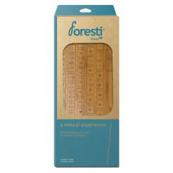 iCover Foresti Bamboo Cover - протектор от истински бамбук за Apple и MacBook клавиатури (карамел)