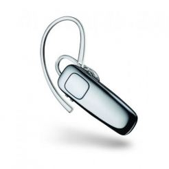 Plantronics BT Headset M90 - безжична слушалка за iPhone, Samsung, Sony, HTC и мобилни телефони с Bluetooth (черен)