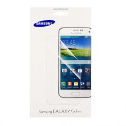 Samsung Screen Protector - оригинално защитно покритие за Samsung Galaxy S5 mini SM-G800 (два броя)