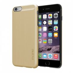 Incipio Feather Shine Case - поликарбонатов кейс за iPhone 6/6S Plus (златист)