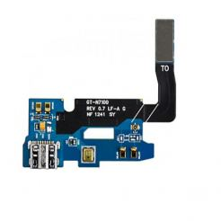Samsung GT-N7100 microUSB Board + Flex Cable - резервен microUSB конектор с флекс кабел за Samsung Galaxy Note 2 N7100