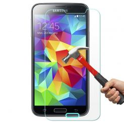 TIPX Tempered Glass Protector - калено стъклено защитно покритие за дисплея на Samsung Galaxy S5 mini SM-G800