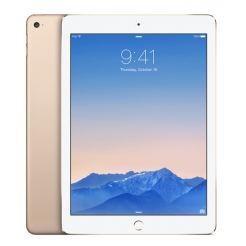 Apple iPad Air 2 Wi-Fi + 4G 128GB с ретина дисплей и A8 чип с 64 битова архитектура (златист)