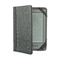 M-edge Go Jacket Reptile - кожен калъф за Amazon Kindle (черен)