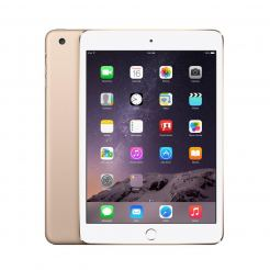 Apple iPad Mini Retina Display 2 Wi-Fi + 4G, 64GB, 7.9 инча, Touch ID (златист)