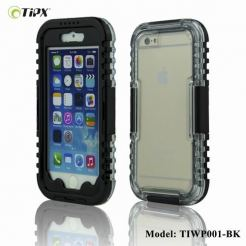 TIPX Waterproof Case - водо-, прахо- и удароустойчив кейс за iPhone 6/6S (черен)