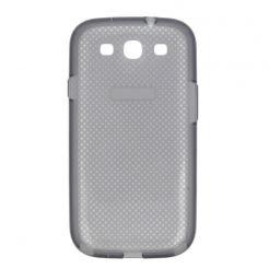 Samsung Cover EF-AI930B - оригинален TPU силиконов калъф за Samsung Galaxy S3, S3 Neo (черен-прозрачен)