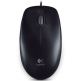 Logitech optical mouse Оптична мишка B100  USB, 3 but, Черна thumbnail