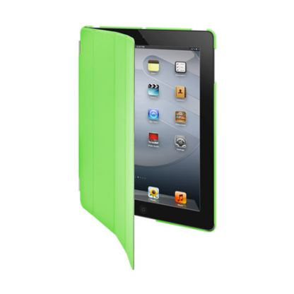 SwitchEasy CoverBuddy - кейс за iPad 3 (съвместим с Apple Smart cover) - зелен  2