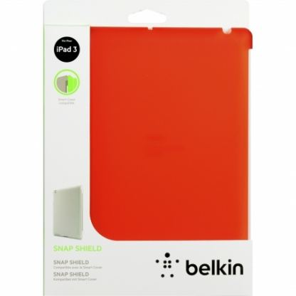 Belkin Snap Shield - кейс за iPad 3 (съвместим с Apple Smart cover) - червен  2