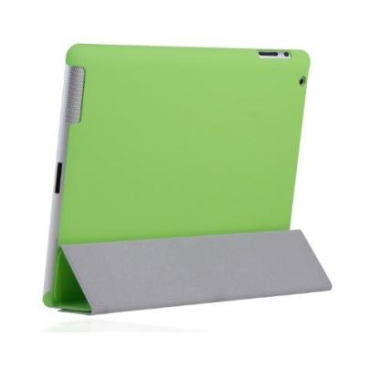 Incipio Smart Feather - кейс за iPad 3 (съвместим с Apple Smart cover) - зелен  3