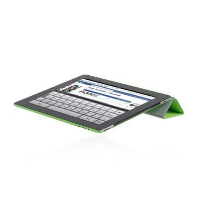 Incipio Smart Feather - кейс за iPad 3 (съвместим с Apple Smart cover) - зелен  5
