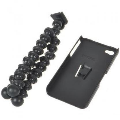 Flexible iPhone Tripod - кейс и трипод за iPhone 4/4S 4
